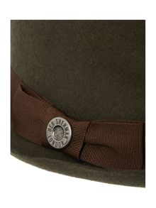 Pork Pie Wool Trilby Hat