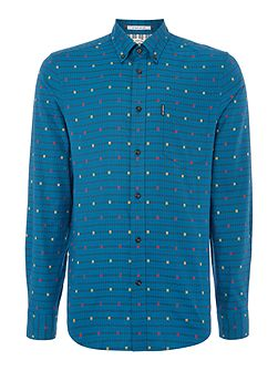 London Lights mod check shirt
