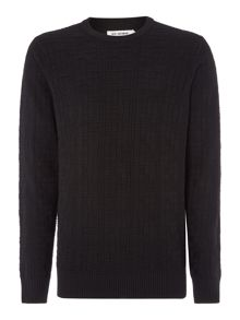 Ben Sherman Textured grid jumper