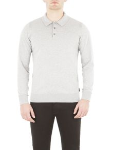 Ben Sherman Cotton long sleeve polo
