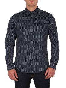 Ben Sherman Long Sleeve Paisley Shirt
