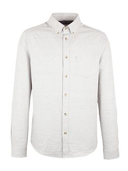 Long Sleeve Herringbone Donegal Shirt