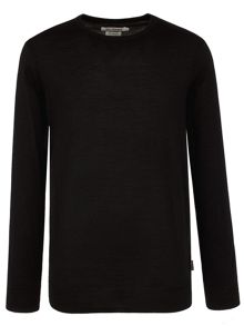 Ben Sherman Merino Crew Neck Jumper