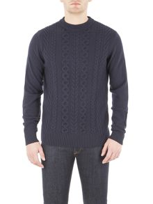 Ben Sherman The Cable Front Crew Neck