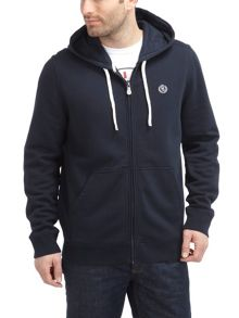 Leeward hooded full zip sweat