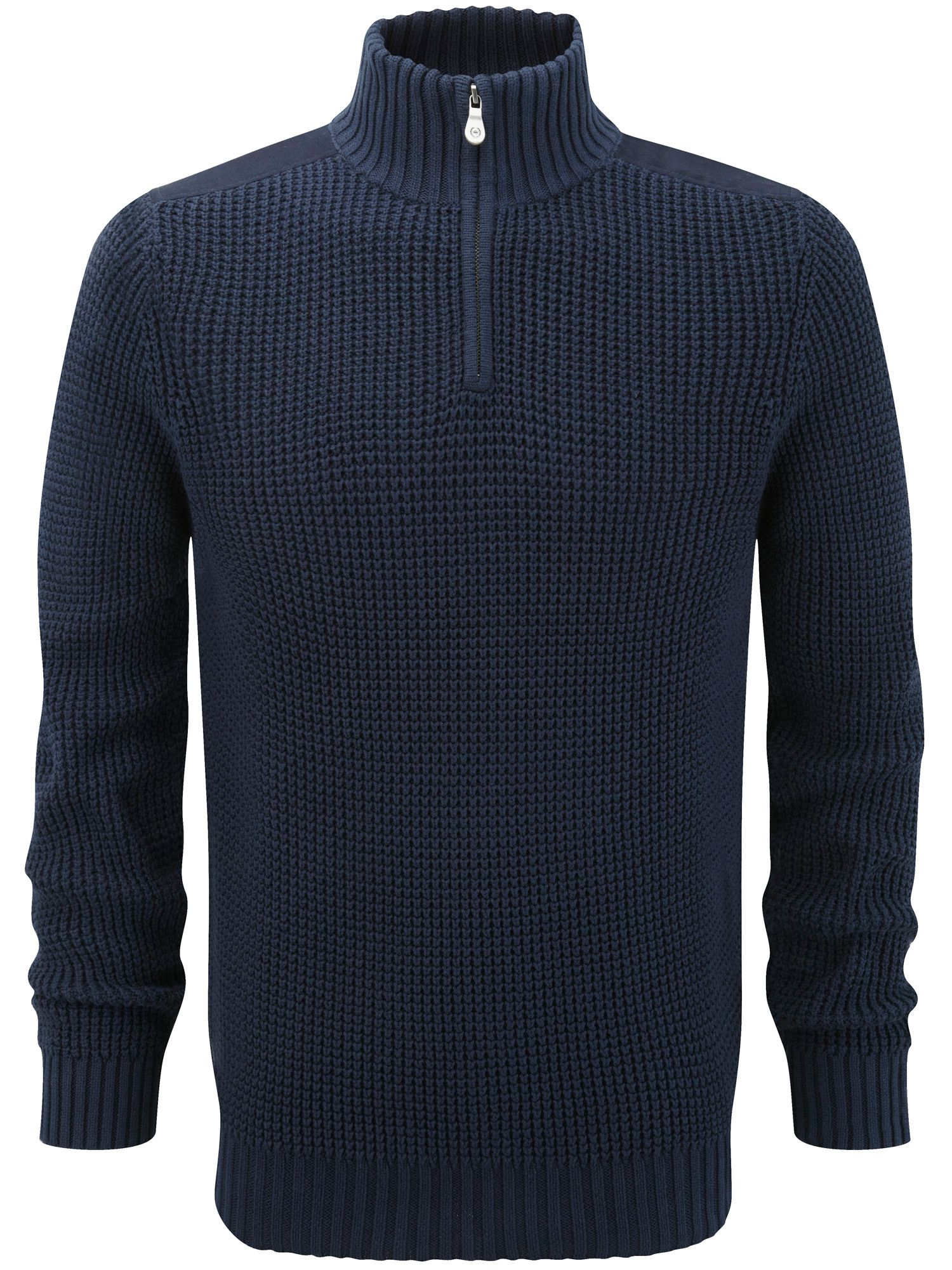 Butterton mkii half zip knit