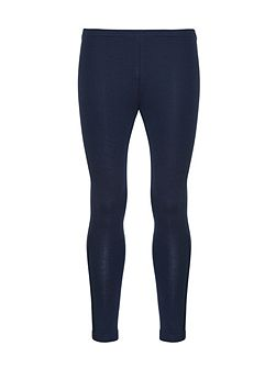 Girls basic skinny fit jersey leggings