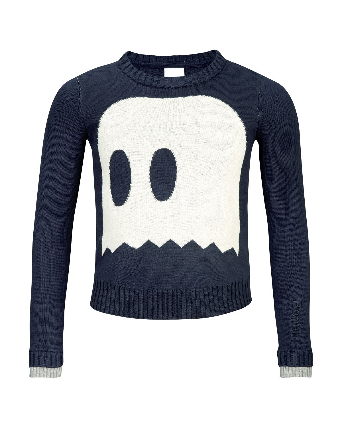 Girl`s noghosts light knit jumper