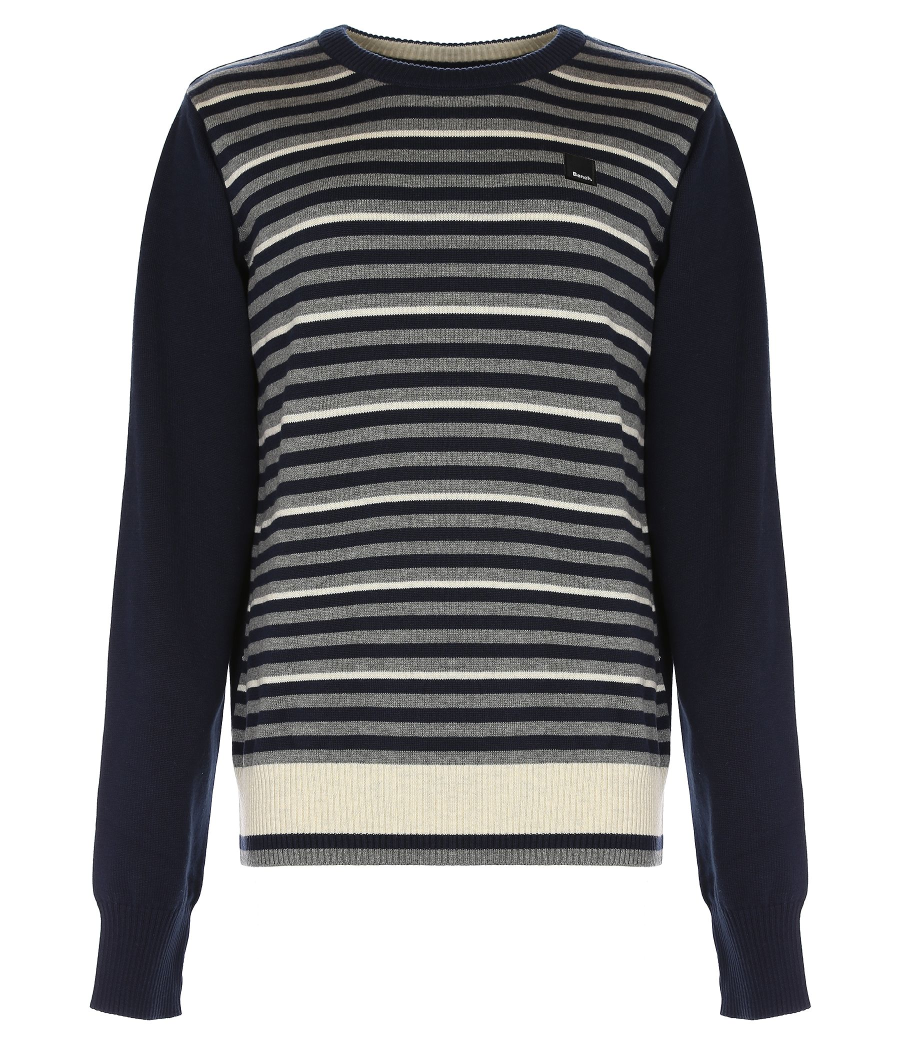 Boy`s gilesgate stripped crew knit