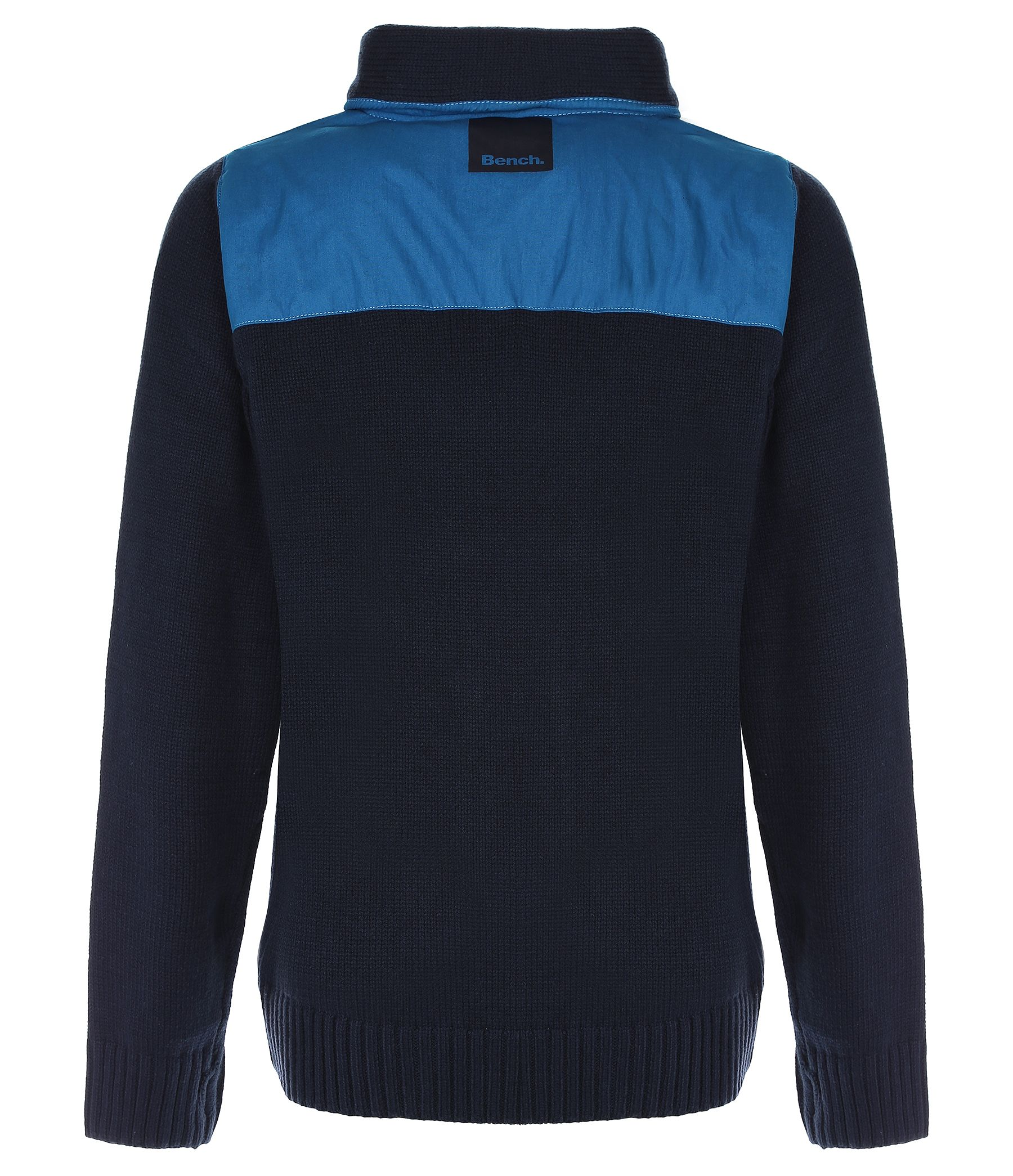 Boy`s gisburn funnel heavy knit