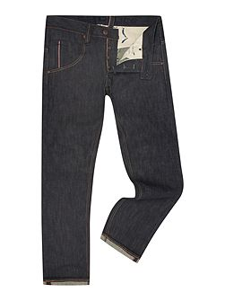 Moray Rinse Wash Low Rise Jeans