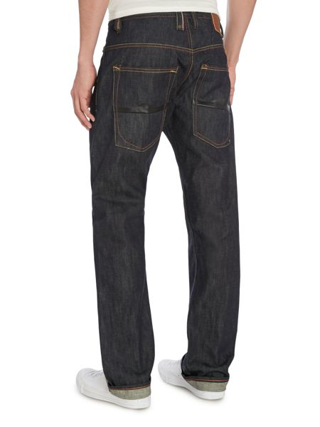 883 Police Moray Rinse Wash Low Rise Jeans