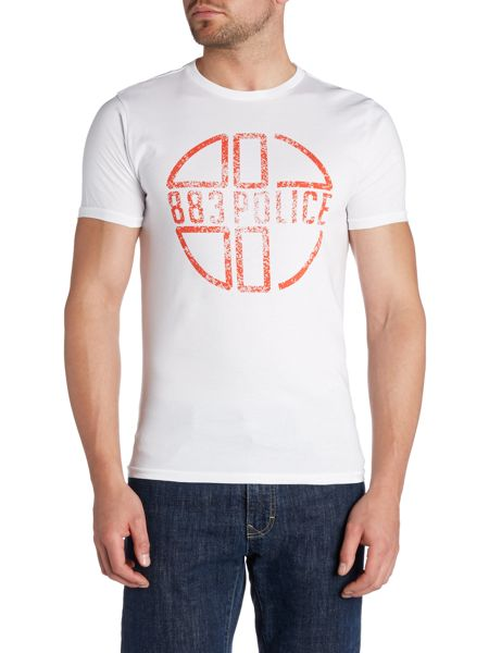 883 Police Graphic Crew Neck Regular Fit T-Shirt