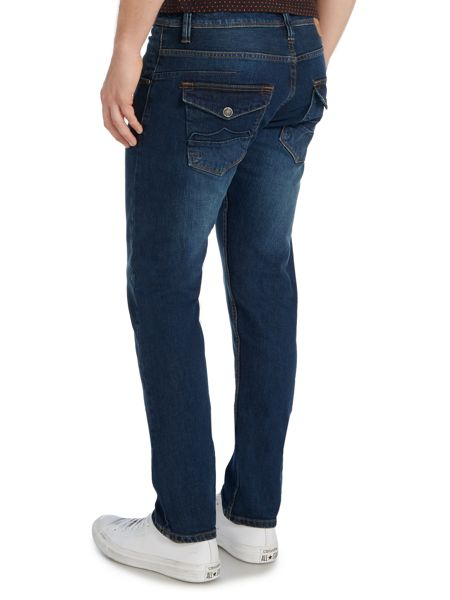 883 Police Motello 271 Tapered Stretch Jeans