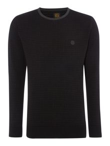 883 Police Pattern Crew Neck Pull Over Jumper