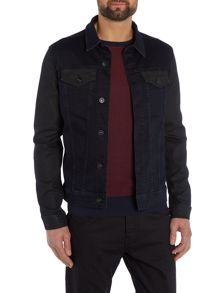 883 Police Ranger 309 Dark Blue/Black Denim Jacket