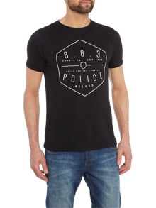 883 Police Deacon graphic t-shirt