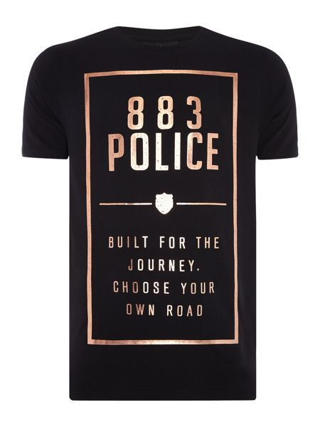 883 Police Panther graphic t-shirt