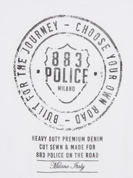 883 Police Heritage graphic t-shirt