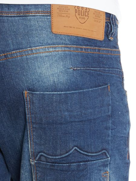 883 Police Garcia MO 320 Straight Jeans