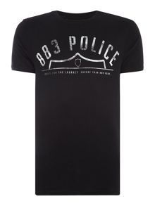 883 Police Frey graphic t-shirt