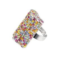 Hollywood cluster rectangle ring