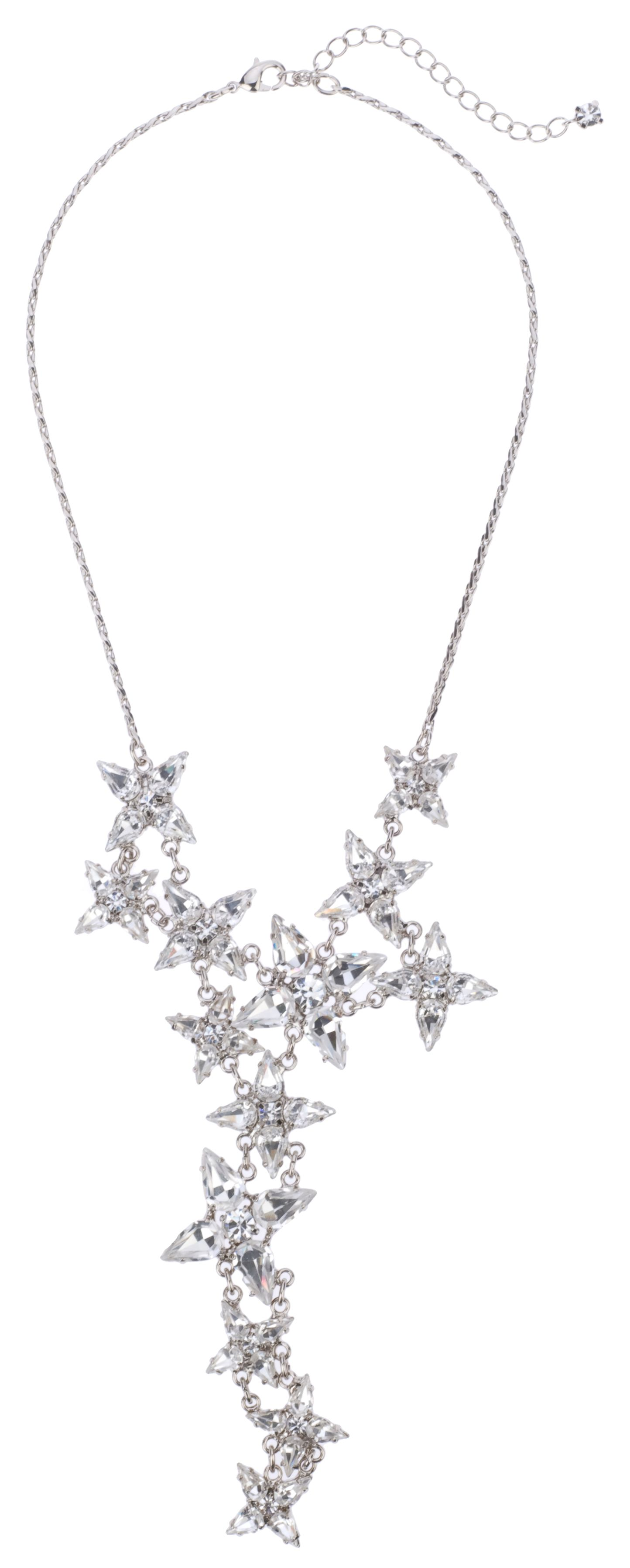 Bridal Encrusted Star Statement Necklace