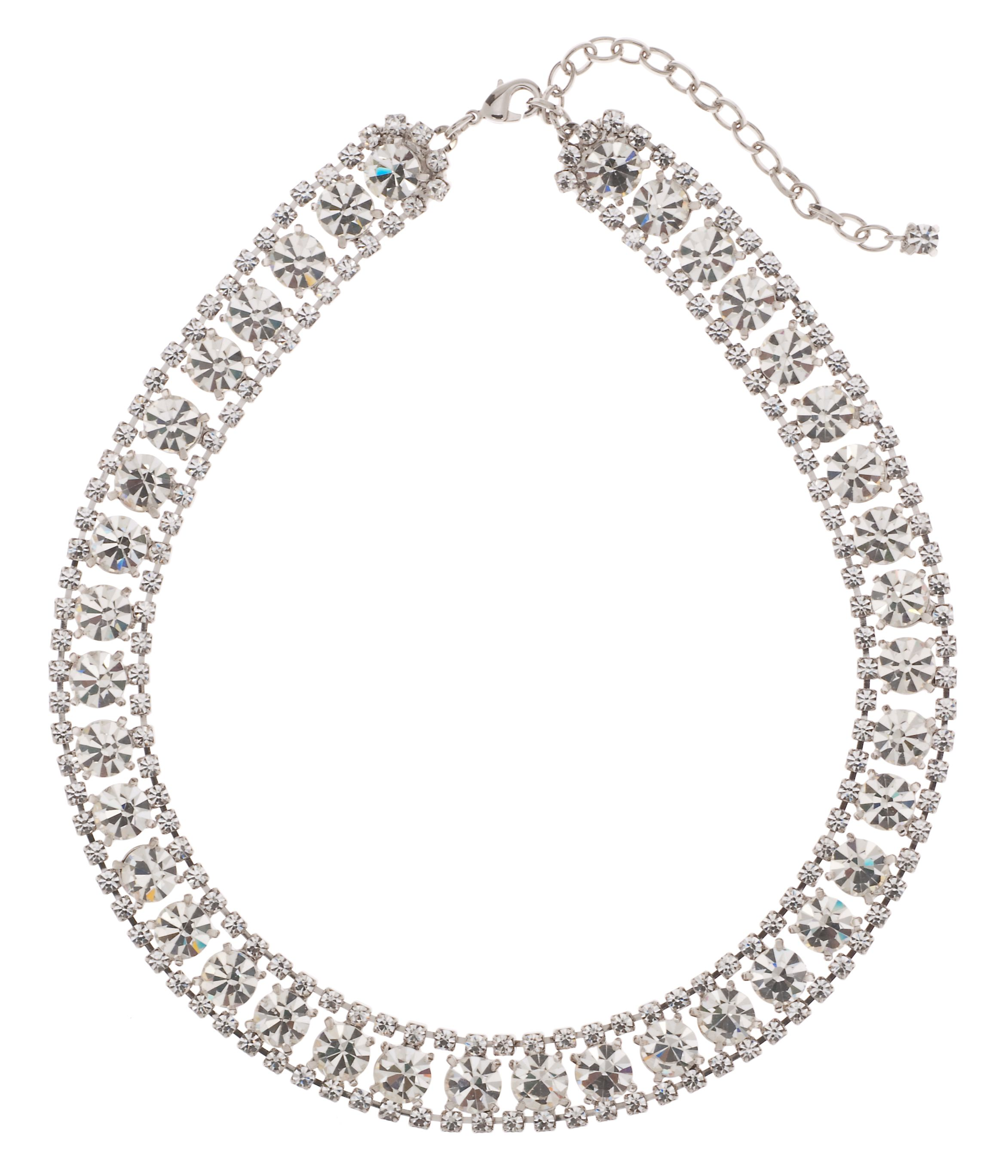Bridal Encrusted Collar Necklace
