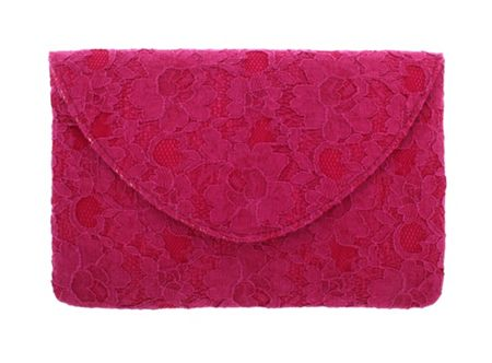Martine Wester Lace Clutch Bag