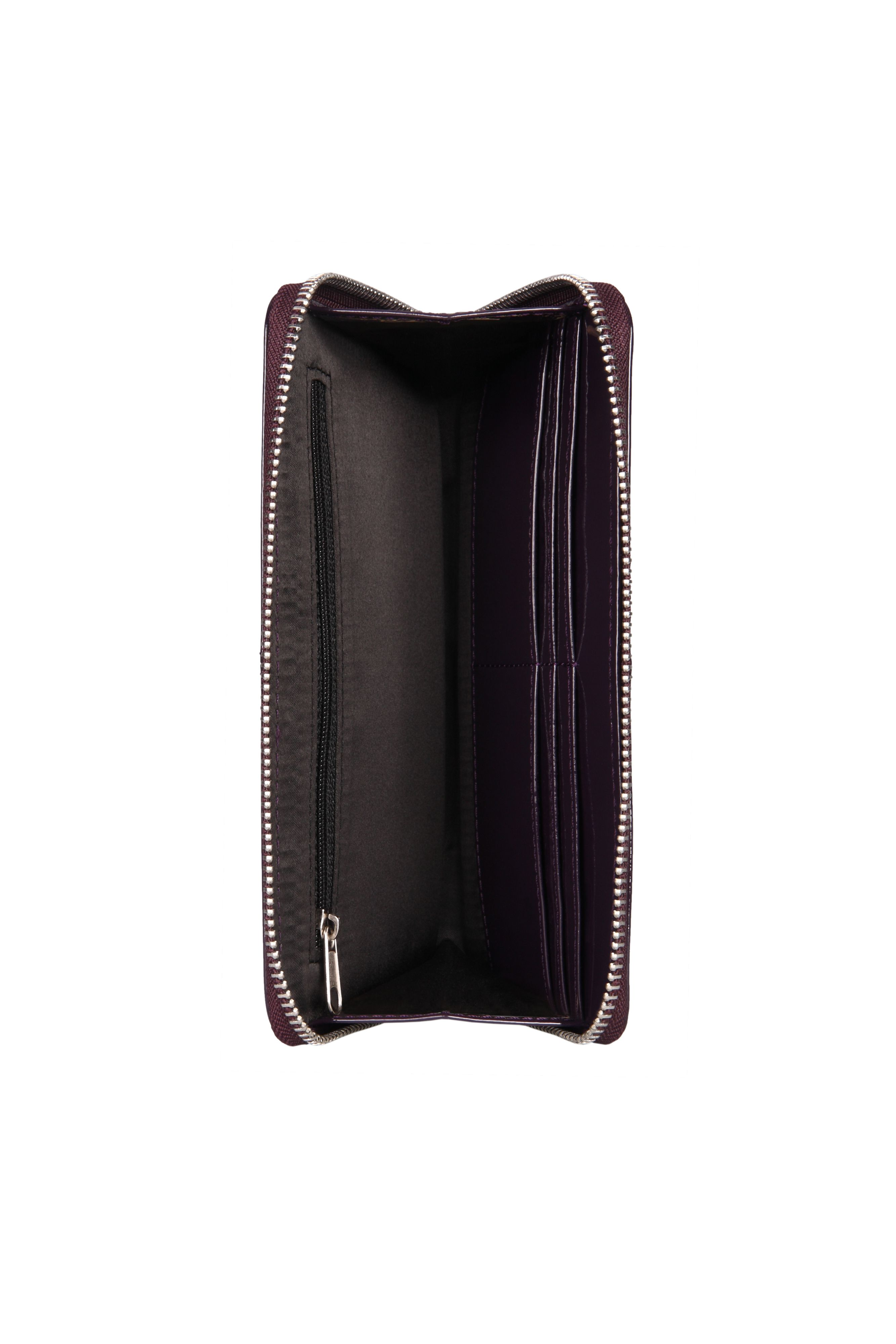 Patent Leather Travel Wallet