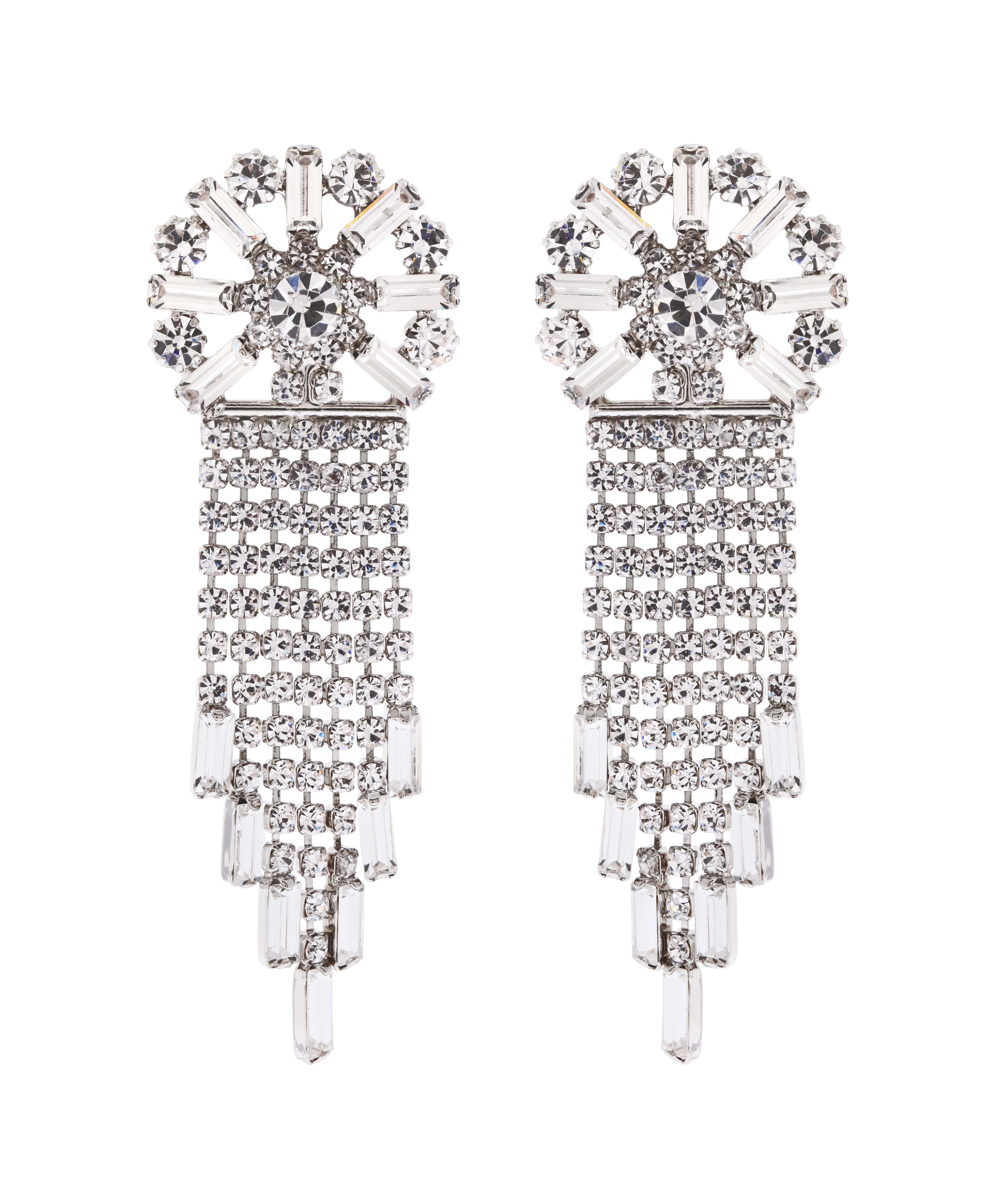 Dress Me Forever Starburst Chandelier Earrings