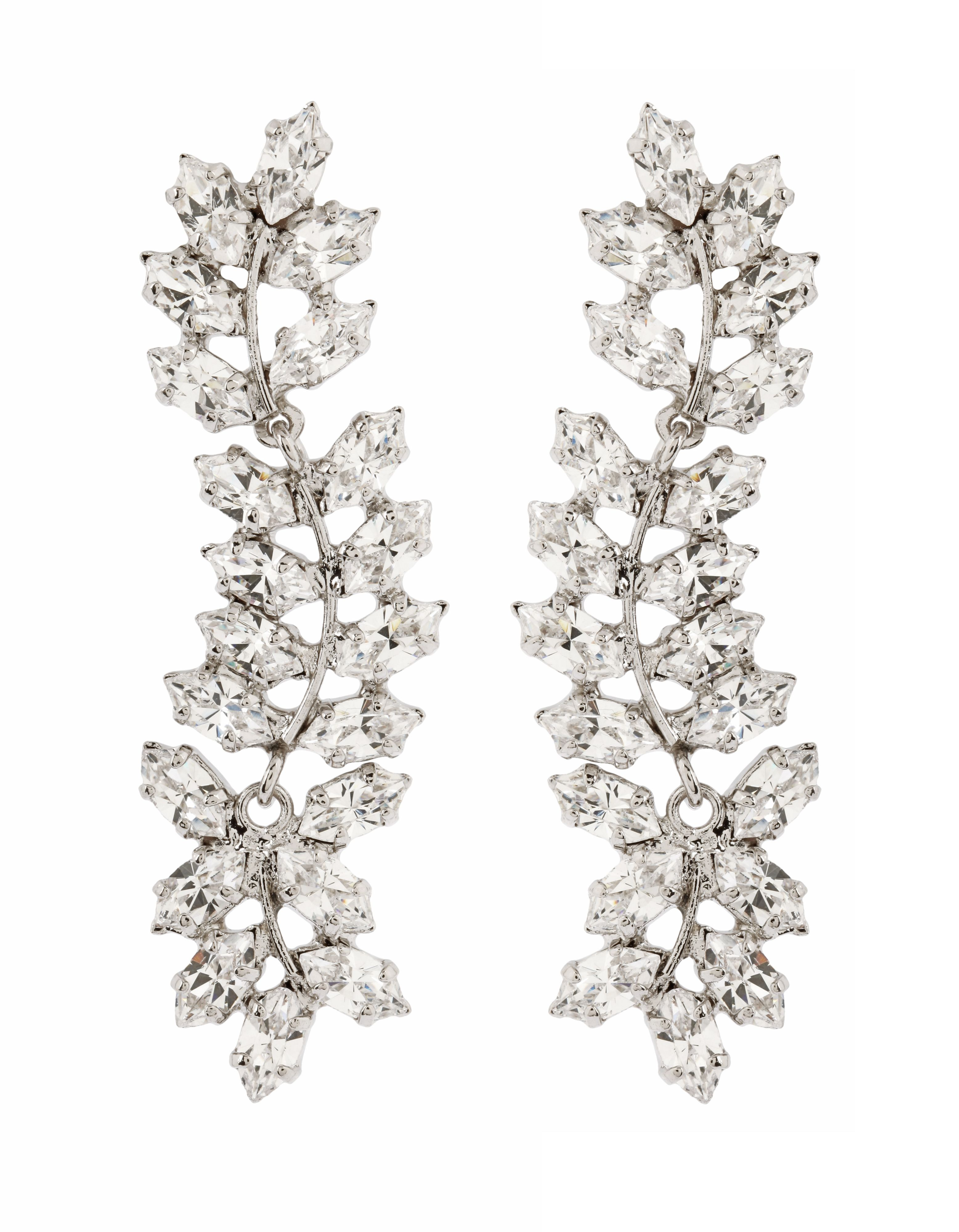 Ivy Crystal Earrings