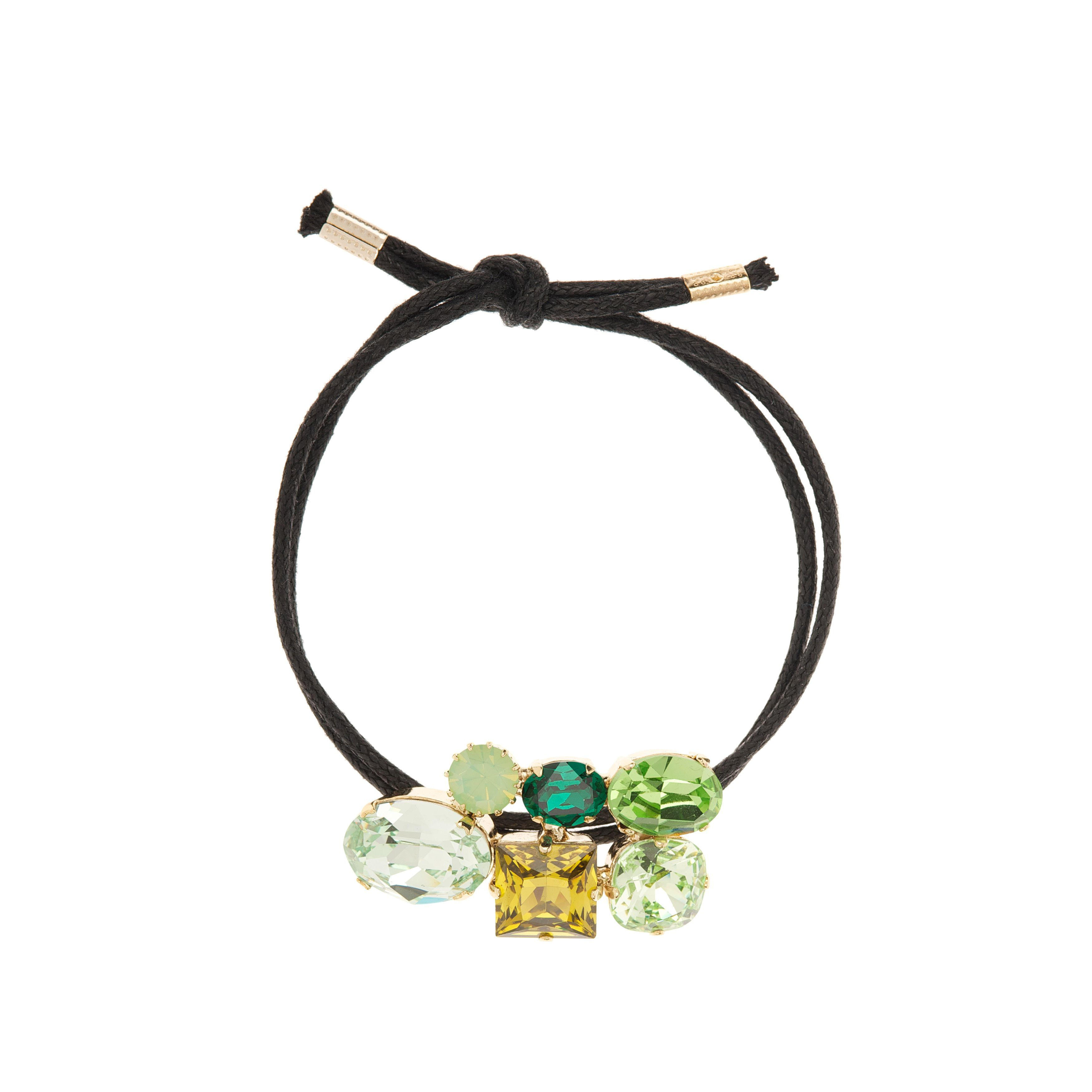 Crystal craze bracelet green