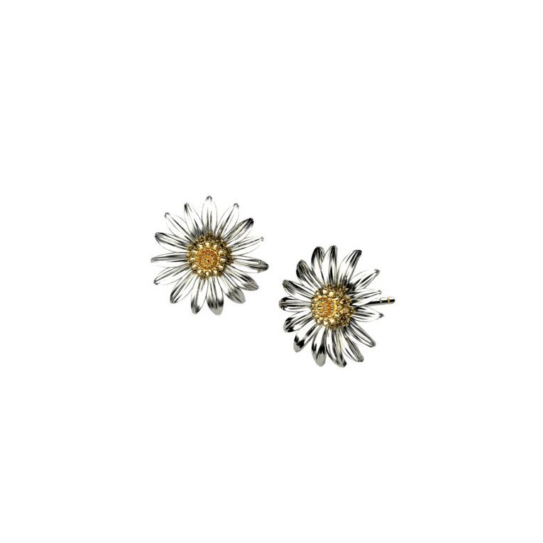 Sterling Silver Marigold Earrings