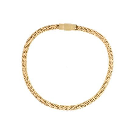 Azendi Yellow Gold Vermeil Attraction Bracelet