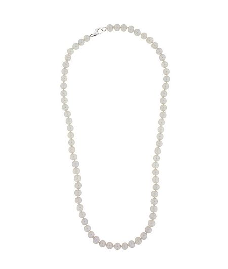 Azendi Sterling silver 16 pearl necklace