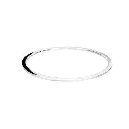 Azendi Sterling silver simple bangle
