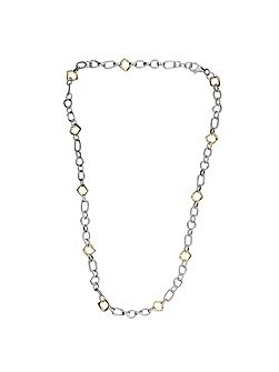 Abstract Small Link Necklace