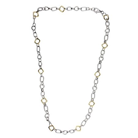 Azendi Abstract Small Link Necklace