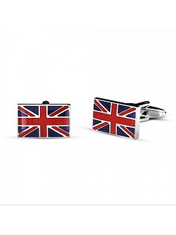 Union jack rectangle cufflinks