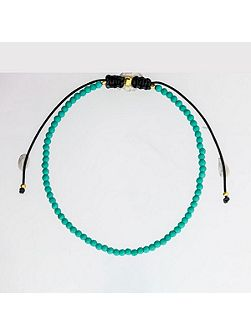 Dark turquoise friendship bracelet