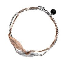 Azendi Double Feather Bracelet