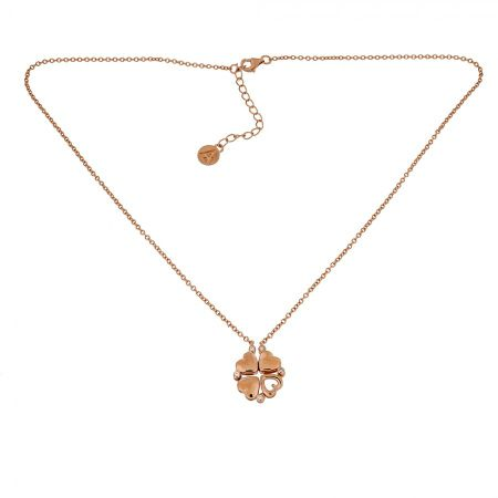 Azendi Heart Two-Way Necklace