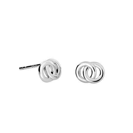 Azendi Interlocking Circles Studs