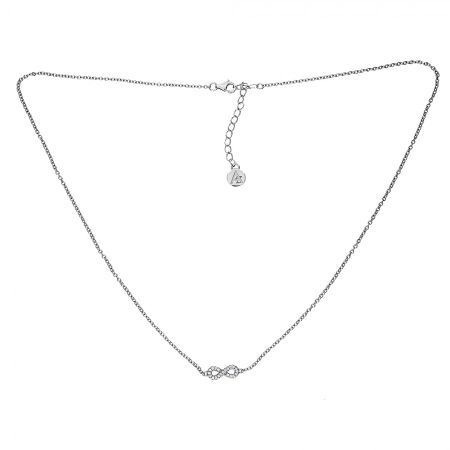 Azendi Reversible Infinity Necklace