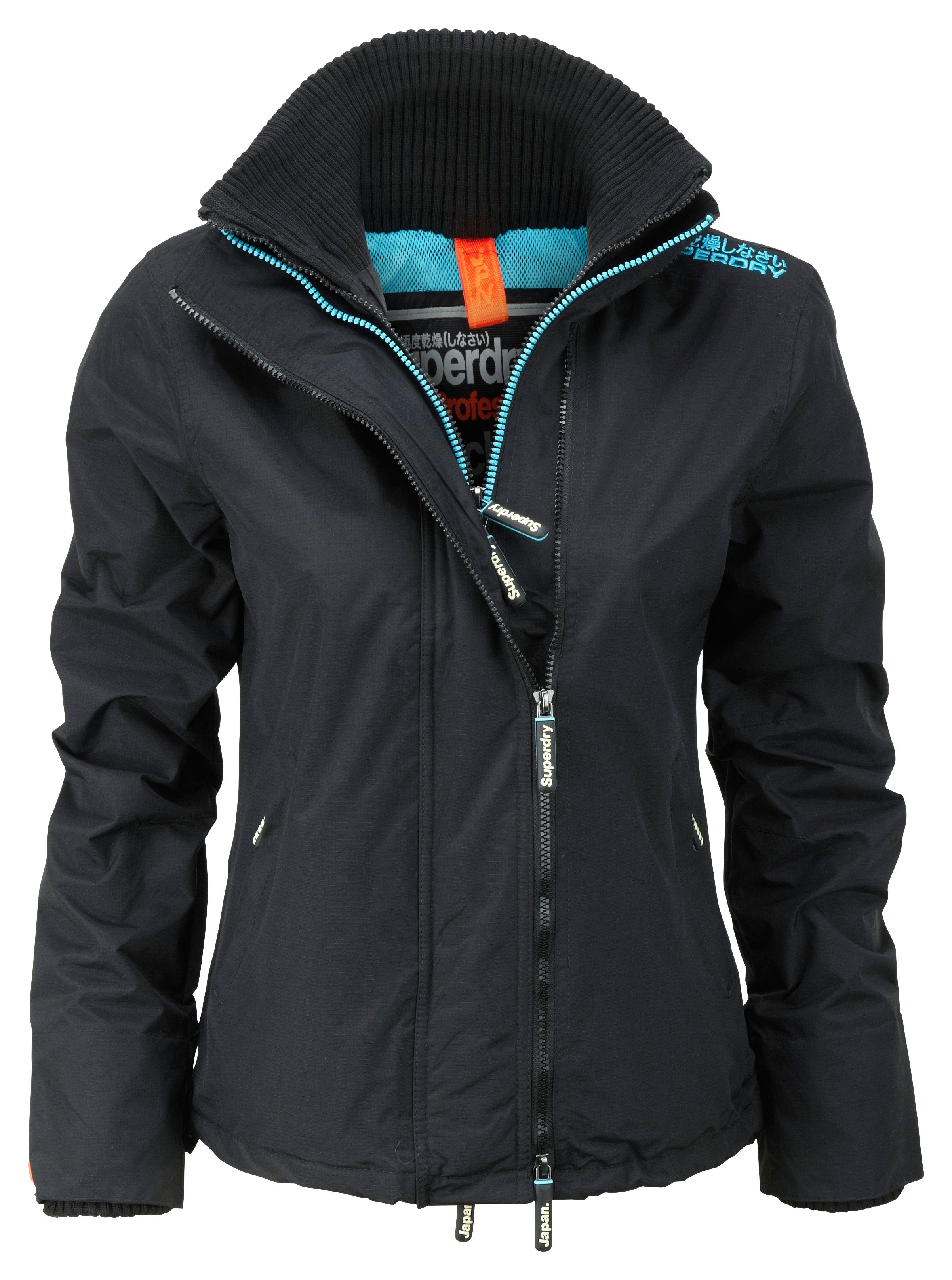 Technical wind cheater jacket