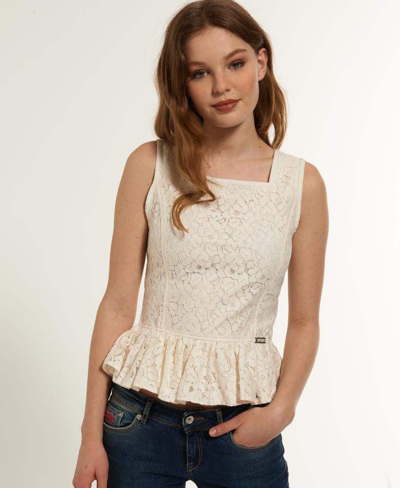 Horizon Peplum Top