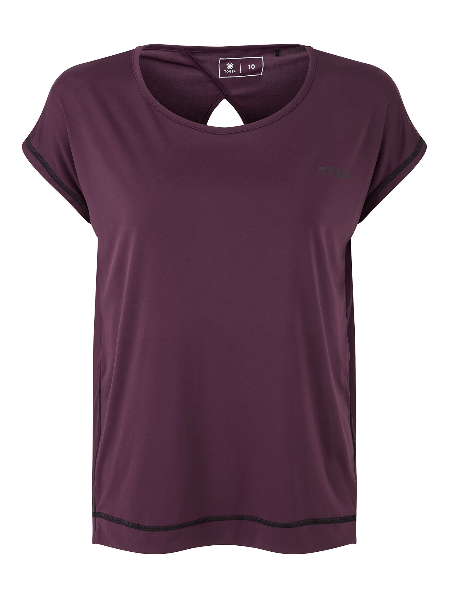 Tog 24 Courtney Womens Performance T Shirt, Purple