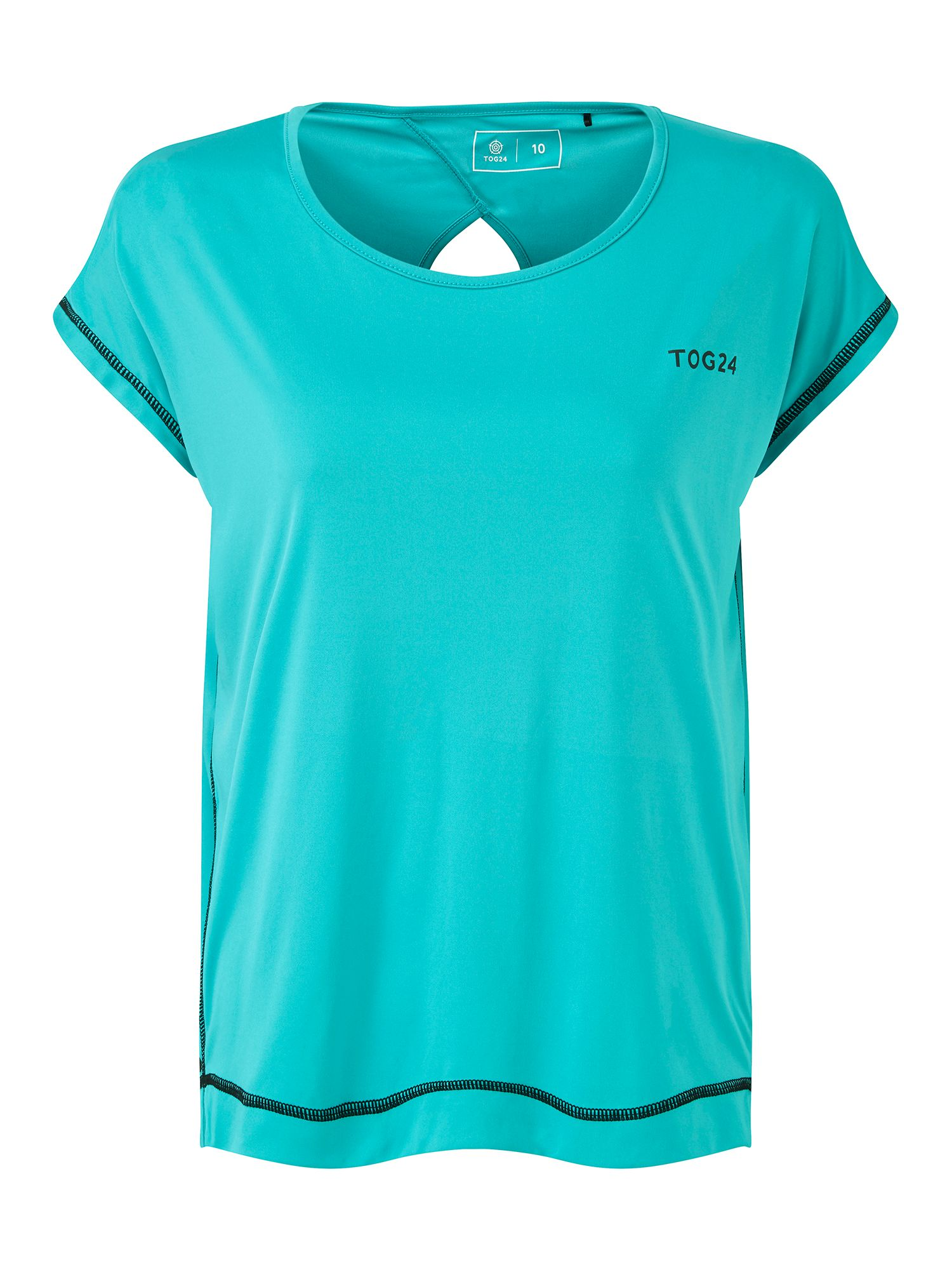 Tog 24 Courtney Womens Performance T Shirt, Turquoise