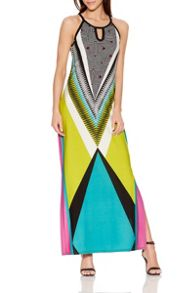Quiz Tribal Print Maxi Dress
